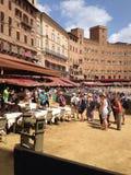 L'Italie, Toscane, Sienne Photo libre de droits