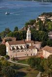l'Italie, Venise, île de Lido de ² de rue Nicolà Photographie stock libre de droits