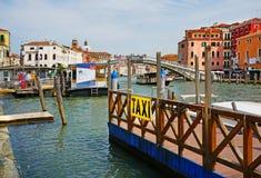 l'Italie Venise, amarrant sur la gare ferroviaire Photos stock