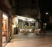 l'Italie Venise Café de rue Photographie stock