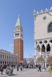 l'Italie Venise Tour de Bell de San Marco - campanile de St Mark Photo libre de droits