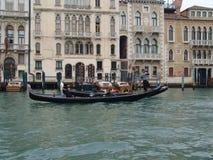 l'Italie Venise Vue de ville gondole Images libres de droits
