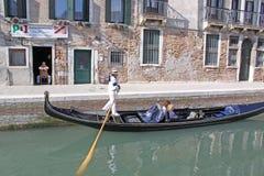 l'Italie Venise Vue de ville gondole Photographie stock