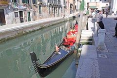 l'Italie Venise Vue de ville gondole Photos libres de droits