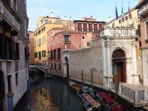 l'Italie Venise Vue de ville Gondoles Photo stock