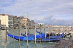 l'Italie Venise Vue de ville Station de gondoles Images stock