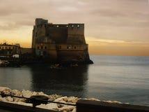 L'Italie, ville de Naples, Castel Nuovo Photos stock