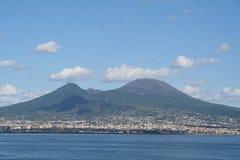 l'Italie. Volcan du Vésuve photo libre de droits
