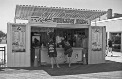 L'Italien de Ralph glace, le parc d'Asbury, NJ Photo stock