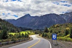 L'itinéraire 40, Argentine du sud photographie stock libre de droits