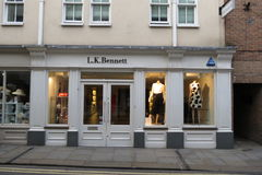 L.K.Bennett brand store Royalty Free Stock Photography