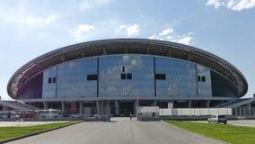 L'Kazan-arena dello stadio Gli oggetti dell'Universiade a Kazan immagini stock