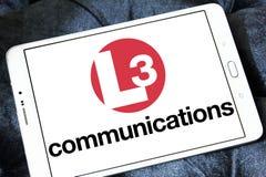L3 komunikacj logo Obrazy Stock