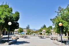 L kwadrata widok przy De Anza Szkoła wyższa, Cupertino zdjęcia stock
