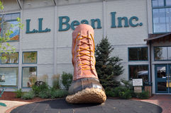 L.L. Bean retail store at Freeport, Maine, USA Stock Photography