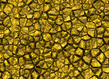 L'or lapide les milieux brillants de texture de soulagement Photo stock
