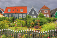 L'île de Marken, Hollande, Pays-Bas Photo stock