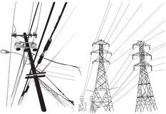 l'électricité Images stock