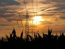 L'électricité Polonais Images libres de droits