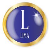 L For Lima Royalty Free Stock Photography