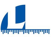 l logo Zdjęcie Stock