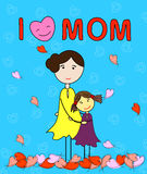 L love mom Royalty Free Stock Photo