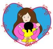 L love mom Stock Image