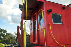 L&M Caboose royalty free stock photography