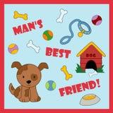 L'meilleur ami de l'homme illustration stock