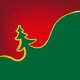 L'natale-albero del fondo di Natale segna il simbolo Fotografie Stock Libere da Diritti