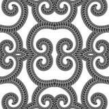 L?nea incons?til ornamental modelo Textura sin fin Ornamento geom?trico oriental fotos de archivo libres de regalías