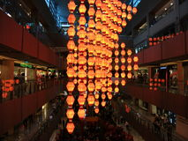 L'an neuf chinois allume la décoration Image libre de droits