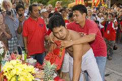 L'an neuf chinois le 14 février 2010 Images libres de droits