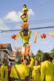 L'an neuf chinois le 14 février 2010 Photographie stock libre de droits
