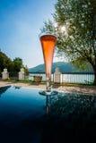 lśnienia szklany wino Zdjęcia Royalty Free