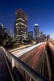 L.A. at night Stock Photo