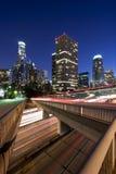 L.A. at night stock photos