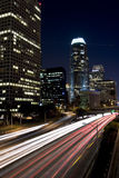 L.A. at night Stock Photography