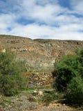 L'oasi Barranca de la Madre di Ajui su Fuerteventura Immagine Stock
