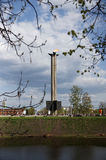 L'obelisco della vittoria Fotografia Stock Libera da Diritti