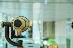 L'obiettivo è sul supporto della lente Fotografia Stock Libera da Diritti