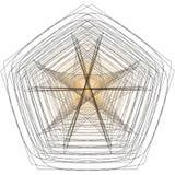 L'objet cosmique est une fractale géométrique Image libre de droits