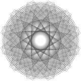 L'objet cosmique est une fractale géométrique Photo stock