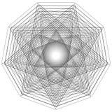 L'objet cosmique est une fractale géométrique Photos libres de droits