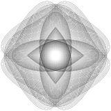 L'objet cosmique est une fractale géométrique Photo libre de droits