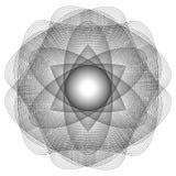 L'objet cosmique est une fractale géométrique Image stock