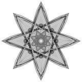 L'objet cosmique est une fractale géométrique Images libres de droits