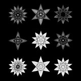L'objet cosmique est une fractale géométrique Images stock