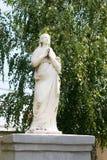 L'objet exposé représentant une sculpture en antiquité de plâtre photographie stock libre de droits