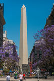 L'obélisque (EL Obelisco) Photos libres de droits